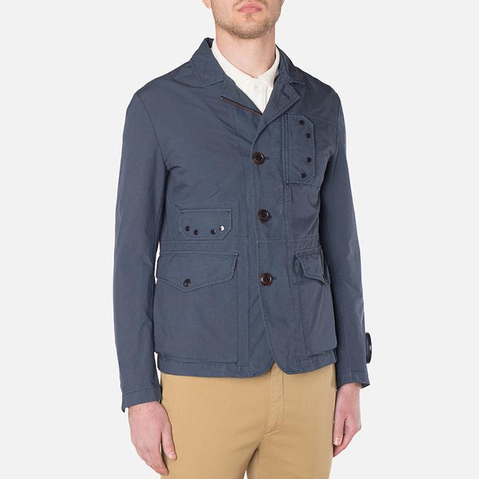 Мужская куртка C.P. Company Microfiber Watchviewer Blazer Navy