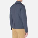 Мужская куртка C.P. Company Microfiber Watchviewer Blazer Navy фото- 2