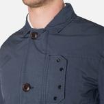Мужская куртка C.P. Company Microfiber Watchviewer Blazer Navy фото- 5