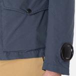 Мужская куртка C.P. Company Microfiber Watchviewer Blazer Navy фото- 9