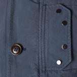 Мужская куртка C.P. Company Microfiber Watchviewer Blazer Navy фото- 8