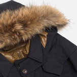 Мужская куртка C.P. Company MICROREPS 60/40 Fur Hood Parka Navy фото- 1