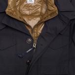 Мужская куртка C.P. Company MICROREPS 60/40 Fur Hood Parka Navy фото- 2