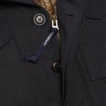 Мужская куртка C.P. Company MICROREPS 60/40 Fur Hood Parka Navy фото- 4