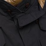 Мужская куртка C.P. Company MICROREPS 60/40 Fur Hood Parka Navy фото- 3