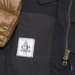 Мужская куртка C.P. Company MICROREPS 60/40 Fur Hood Parka Navy фото- 10