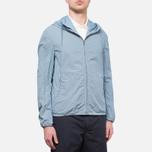 Мужская куртка C.P. Company Mille Miglia Cropped Blue/Navy Dot фото- 0