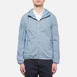 Мужская куртка C.P. Company Mille Miglia Cropped Blue/Navy Dot фото- 10