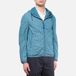 Мужская куртка C.P. Company Mille Miglia Cropped Turquoise фото- 0