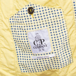 C.P. Company Mille Miglia Cropped Yellow/Navy photo- 8
