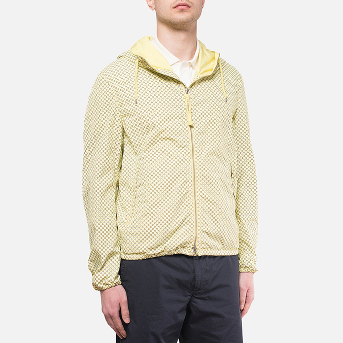 Мужская куртка C.P. Company Mille Miglia Cropped Yellow/Navy/White Dot