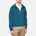 Мужская куртка C.P. Company Mille Miglia Garment Dyed Turquoise фото- 0