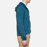 Мужская куртка C.P. Company Mille Miglia Garment Dyed Turquoise фото- 1