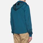 Мужская куртка C.P. Company Mille Miglia Garment Dyed Turquoise фото- 2