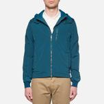 Мужская куртка C.P. Company Mille Miglia Garment Dyed Turquoise фото- 11