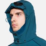 Мужская куртка C.P. Company Mille Miglia Garment Dyed Turquoise фото- 4