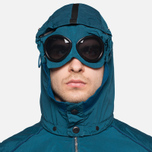 Мужская куртка C.P. Company Mille Miglia Garment Dyed Turquoise фото- 6