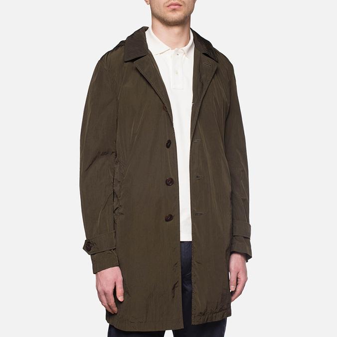 Пальто C.P. Company Mille Miglia Trench Coat Olive