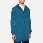 Пальто C.P. Company Mille Miglia Trench Coat Turquoise фото- 4