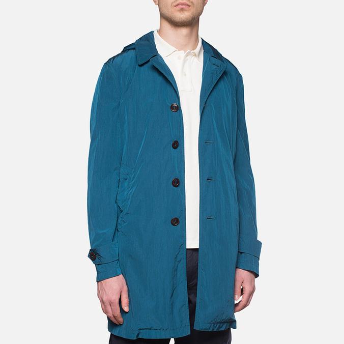 Пальто C.P. Company Mille Miglia Trench Coat Turquoise