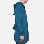 Пальто C.P. Company Mille Miglia Trench Coat Turquoise фото- 1