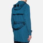 Пальто C.P. Company Mille Miglia Trench Coat Turquoise фото- 2