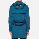 Пальто C.P. Company Mille Miglia Trench Coat Turquoise фото- 3