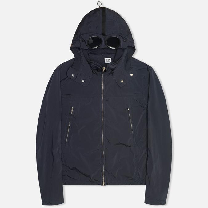 Мужская куртка ветровка C.P. Company Nycra Nylon Goggle Navy