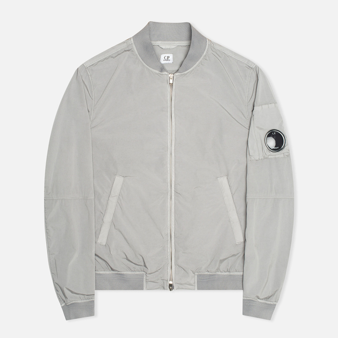 Мужская куртка C.P. Company Nycra Nylon MA1 Arm Lens Grey