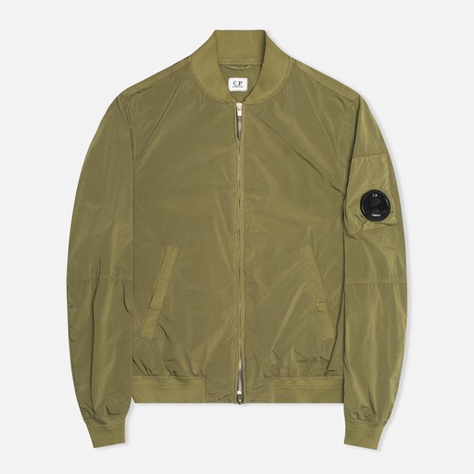 C.P. Company Nycra Nylon MA1 Arm Lens Jacket Military Green