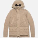 Мужская куртка C.P. Company NYCRA Nylon Shell Goggle Jacket Beige фото- 0