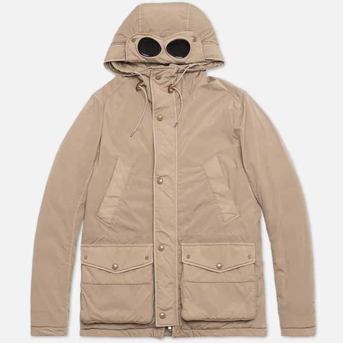Мужская куртка C.P. Company NYCRA Nylon Shell Goggle Jacket Beige