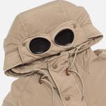 Мужская куртка C.P. Company NYCRA Nylon Shell Goggle Jacket Beige фото- 1