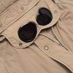 Мужская куртка C.P. Company NYCRA Nylon Shell Goggle Jacket Beige фото- 2