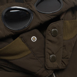 Мужская куртка C.P. Company NYCRA Nylon Shell Polar Fleece Lined Goggle Jacket Olive фото- 3