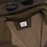 Мужская куртка C.P. Company NYCRA Nylon Shell Polar Fleece Lined Goggle Jacket Olive фото- 2