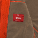 Мужская куртка C.P. Company NYCRA Nylon Shell Polar Fleece Lined Goggle Jacket Orange фото- 9