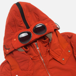 Мужская куртка C.P. Company NYCRA Nylon Shell Polar Fleece Lined Goggle Jacket Orange фото- 1