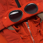 Мужская куртка C.P. Company NYCRA Nylon Shell Polar Fleece Lined Goggle Jacket Orange фото- 4