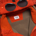 Мужская куртка C.P. Company NYCRA Nylon Shell Polar Fleece Lined Goggle Jacket Orange фото- 3