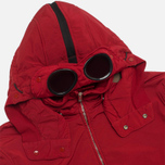 Мужская куртка C.P. Company NYCRA Nylon Shell Polar Fleece Lined Goggle Jacket Red фото- 1