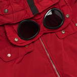Мужская куртка C.P. Company NYCRA Nylon Shell Polar Fleece Lined Goggle Jacket Red фото- 2