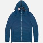 Мужская куртка C.P. Company NYCRA Nylon Shell Polar Fleece Lined Goggle Jacket Turquoise фото- 0