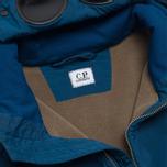 Мужская куртка C.P. Company NYCRA Nylon Shell Polar Fleece Lined Goggle Jacket Turquoise фото- 2