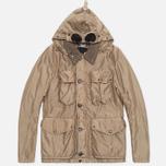 Мужская куртка C.P. Company NYSACK Nylon Cloth Goggle Jacket Sand фото- 0