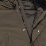 Carhartt WIP Anchorage Parka Jacket Cypress/Black photo- 4