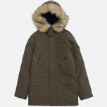 Мужская куртка Carhartt WIP Anchorage Parka Cypress/Black фото- 0