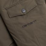Carhartt WIP Anchorage Parka Jacket Cypress/Black photo- 2