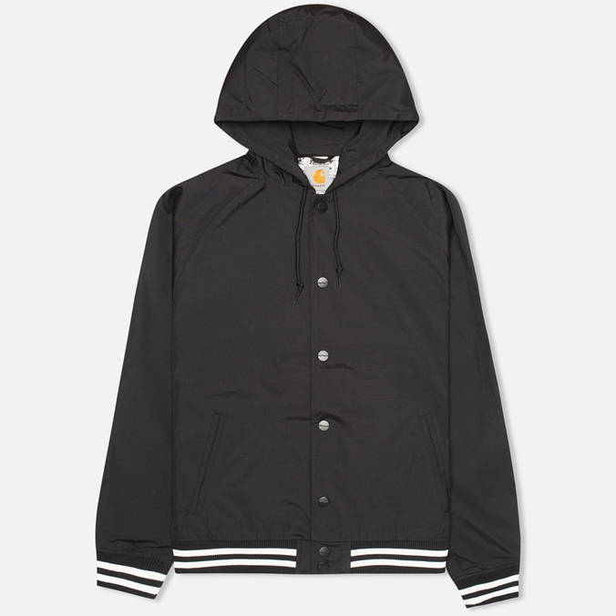 Мужская куртка ветровка Carhartt WIP Campbell Black
