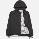 Мужская куртка ветровка Carhartt WIP Campbell Black фото- 1